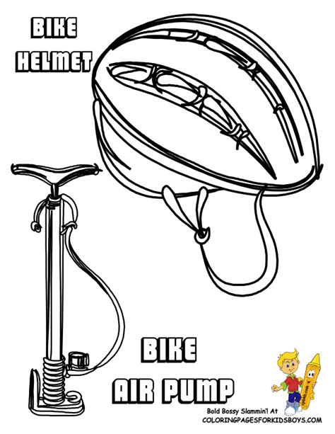 bicycle coloring pages preschool bicycle safety coloring page coloring home