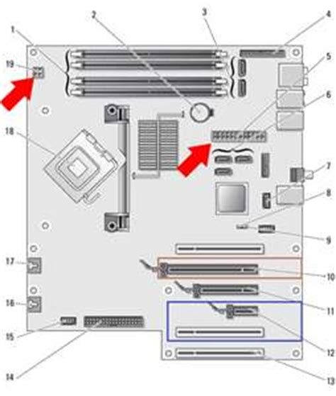 dell xps 420 motherboard diagram solved i a dell xps 420 desktop about a week ago