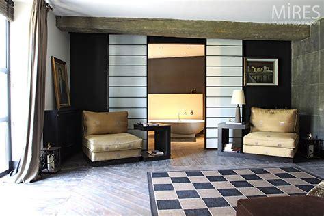 Salon Salle A Manger Design 2678 by Grande Chambre D 233 Co C0535 Mires