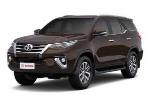 new car models in india with prices new toyota fortuner price 2017 review pics specs