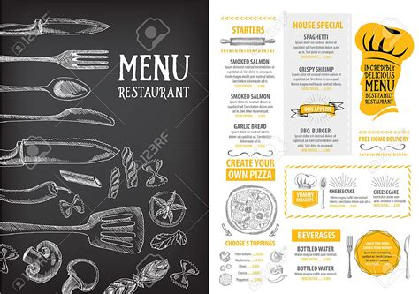 menu with pictures template breakfast menu template mughals