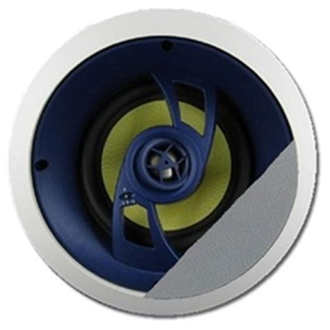 Ceiling Center Channel Speaker by 6 1 2 In Angled In Ceiling Center Channel Speaker