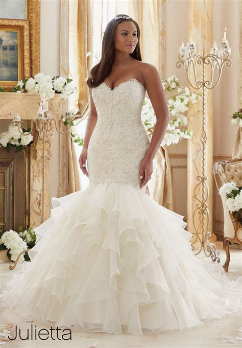 Pretty Gowns For Weddings by Plus Size Wedding Dress Of The Week The Pretty Pear