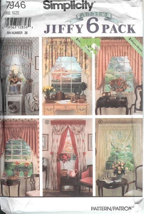 simplicity home decor patterns simplicity window treatment covering curtains drapes home