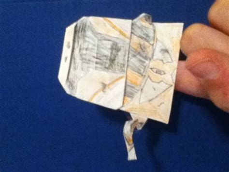 How To Make An Origami Soldier - my mandolorian soldier origami yoda