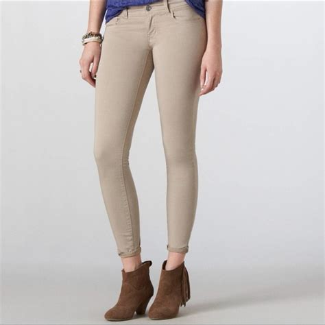 Superstreetch Jegging 62 american eagle outfitters denim beige stretch jeggings from holli s