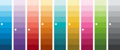 what is a color palette color palettes