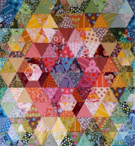 Patchwork Prism Quilt - from the blue chair patchwork prism quilt a