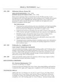 sle basic resume exles technical skills