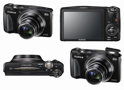 Fujifilm Finepix F900exr fujifilm finepix f900exr announced with world s fastest autofocus system