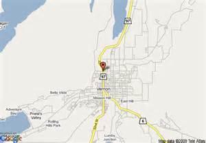 map of 8 motel vernon bc vernon