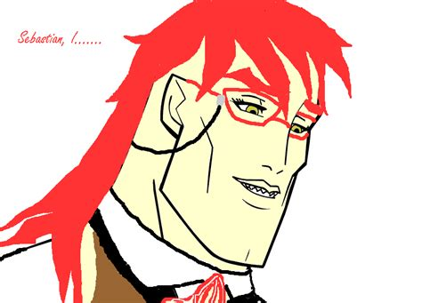 Handsome Face Meme - grell handsome face meme by sequinsupernova on deviantart