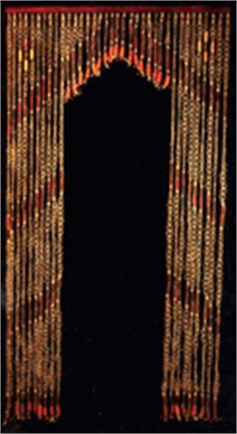 Beaded Curtains For Arched Doorways Arched Beaded Curtains Hemp Wood Arch 36 Strand Beaded Curtain
