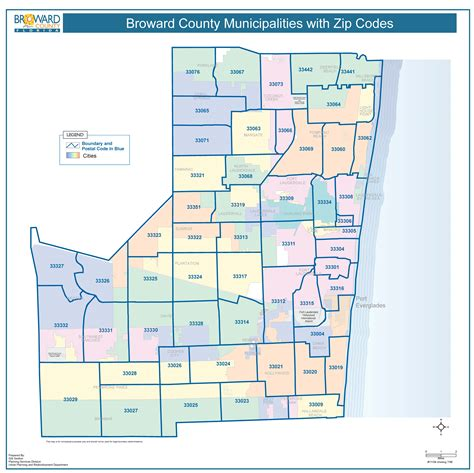 broward county florida map zip code map broward zip code map