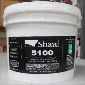 shaw contract pressure sensitive carpet adhesive