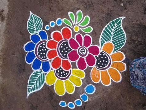 simple rangoli designs for home rangoli designs and