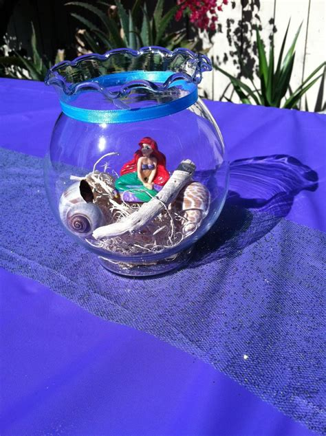 little mermaid centerpieces my kid s parties pinterest