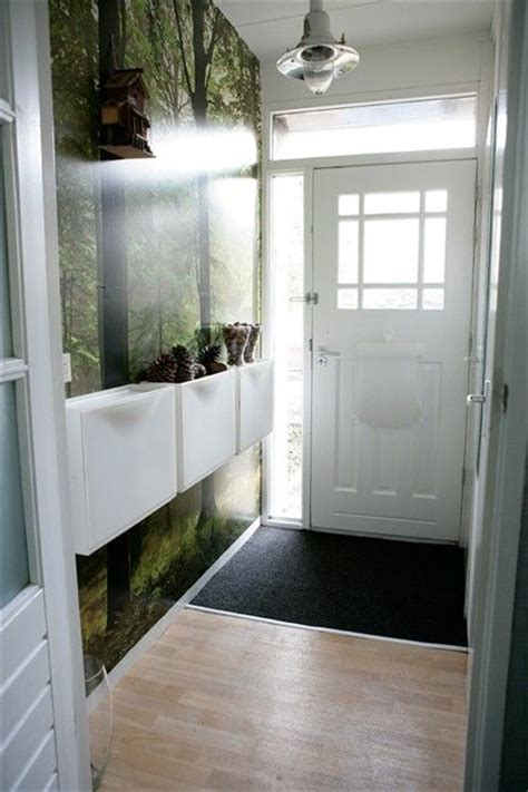 shoe storage for narrow hallways trones the floor doors and baskets on wall