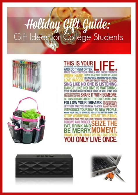 holiday gift guide gift ideas for college students