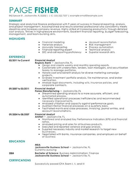 Resume Keywords Exles