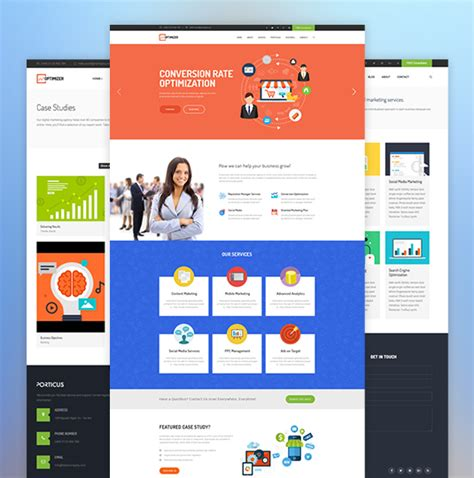 28 joomla social media template ja social ii best