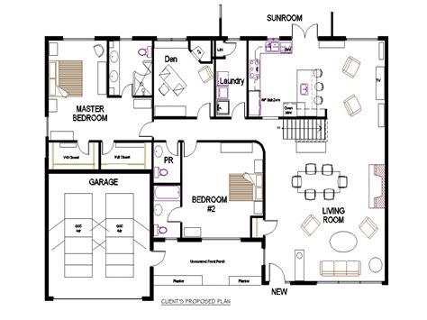 bungalow open floor plans bungalow open concept floor plans open concept living