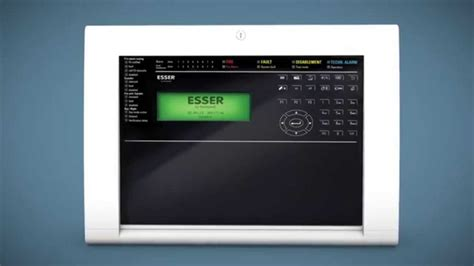 Alarm Esser esser compact professional alarm panel us