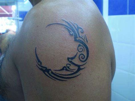 celtic moon tattoo designs moon tattoos tattoosphoto