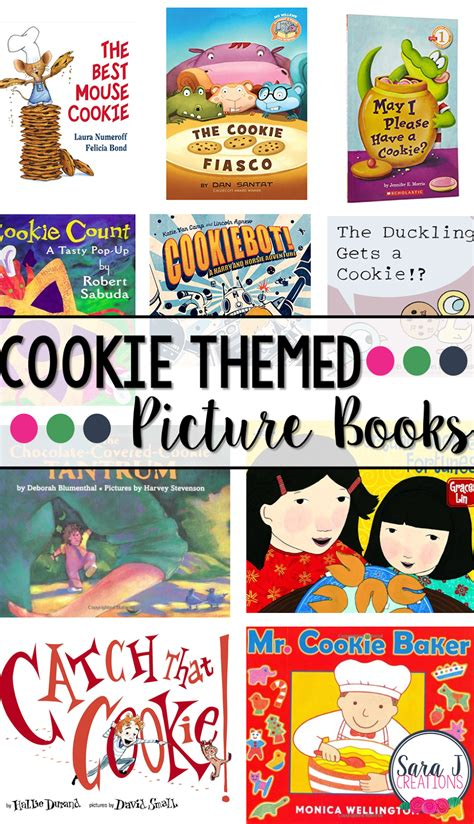 theme picture books cookie themed picture books j creations