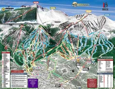 breckenridge ski map ski school breckenridge map pictures to pin on pinsdaddy