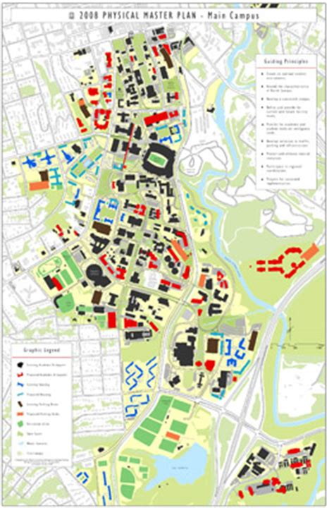 uga map current master plan architects