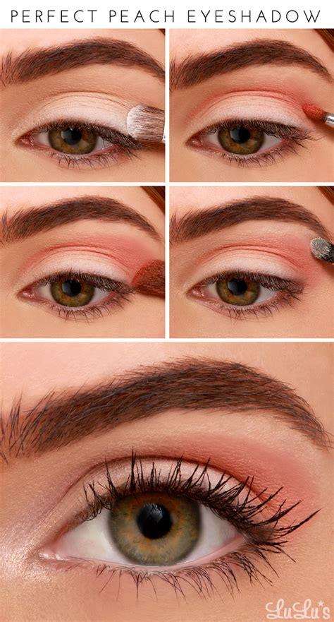 tutorial makeup natural peach lulus how to perfect peach eyeshadow tutorial lulus com