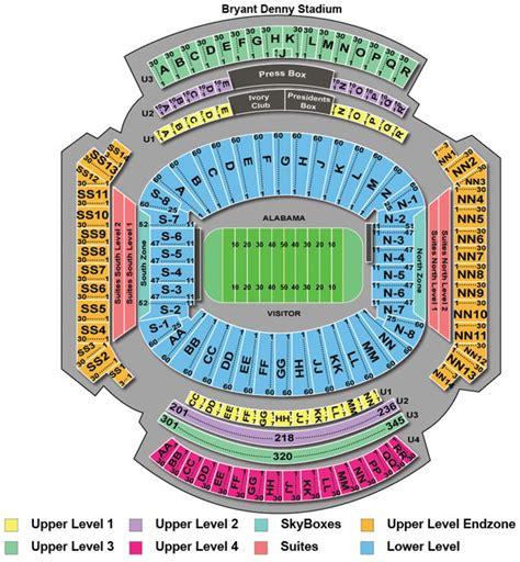 alabama football stadium seating chart 301 moved permanently