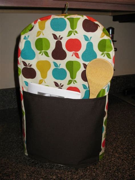 Food Processor Cover PATTERN, Sewing pattern, KitchenAid