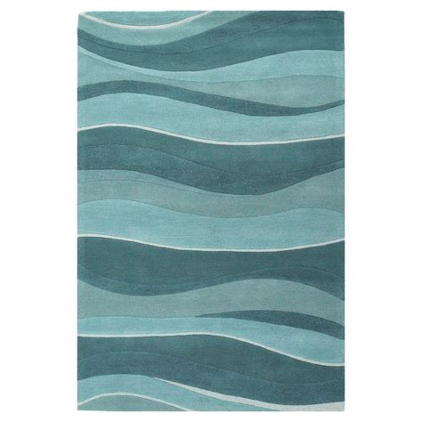 Wave Area Rug Kas Rugs Water Waves 5 Ft X 8 Ft Area Rug Ete10535x8 The Home Depot