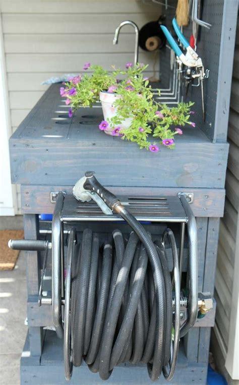 diy rangement outils de jardin en  solutions astucieuses