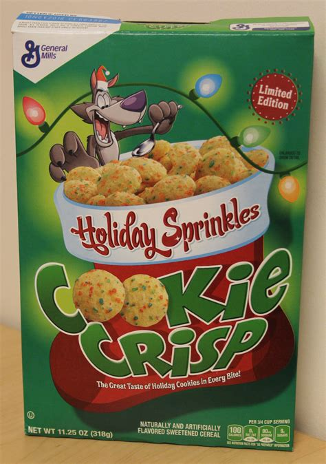 cookie crisp review sprinkles cookie crisp cereal