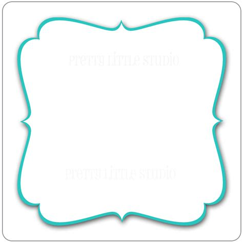 Fancy Card Shape Template by Fancy Shapes Clipart Clipart Suggest