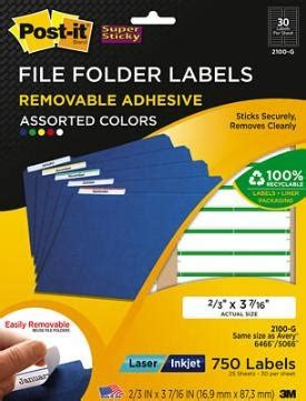 post it file folder labels template post it file folder removable labels removable