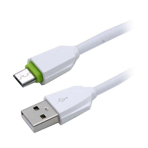 jual ldnio ls07 charger micro usb kabel data putih harga kualitas terjamin blibli