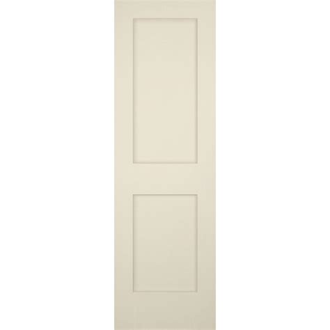 Single Panel Shaker Interior Door by Builder S Choice 24 In X 80 In 2 Panel Shaker Solid
