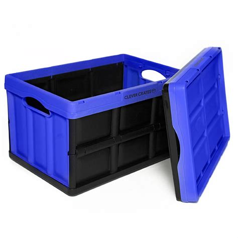 foldable crate clever crates collapsible all purpose utility crates the green