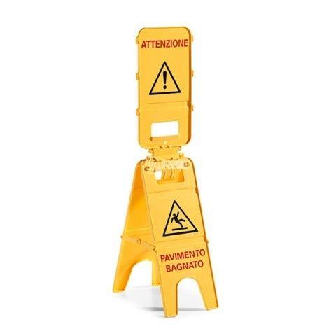 cartello pavimento bagnato cartello avviso pavimento bagnato ad alta visibilita