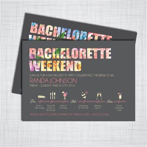 Handmade Bachelorette Invitations - 1000 ideas about diy bachelorette on