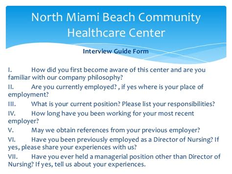 Of Miami Executive Mba Healthcare by Miami Community Healthcare Center