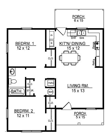 100 floors free level 44 floor plans aflfpw17415 1 story cottage home with 2
