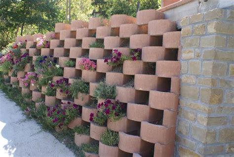 muro fiorito ecoblocco flora edilblok