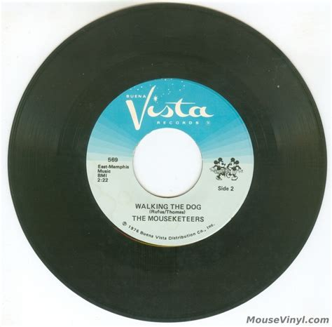 Vista Records The Mouseketeers Disco Mouse By Buena Vista Records Mousevinyl