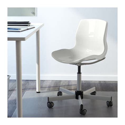 snille swivel chair white ikea