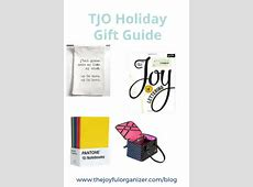 2016 Holiday Gift Guide - The Joyful Organizer 2016 Xmas Gift Guide